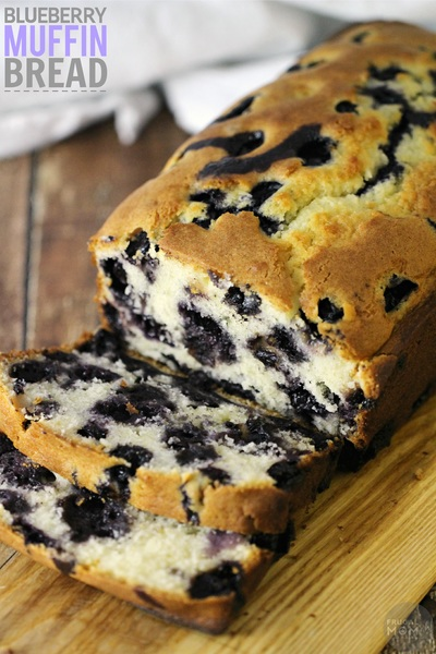 Blueberry Muffin Bread Recipe | RecipeLion.com