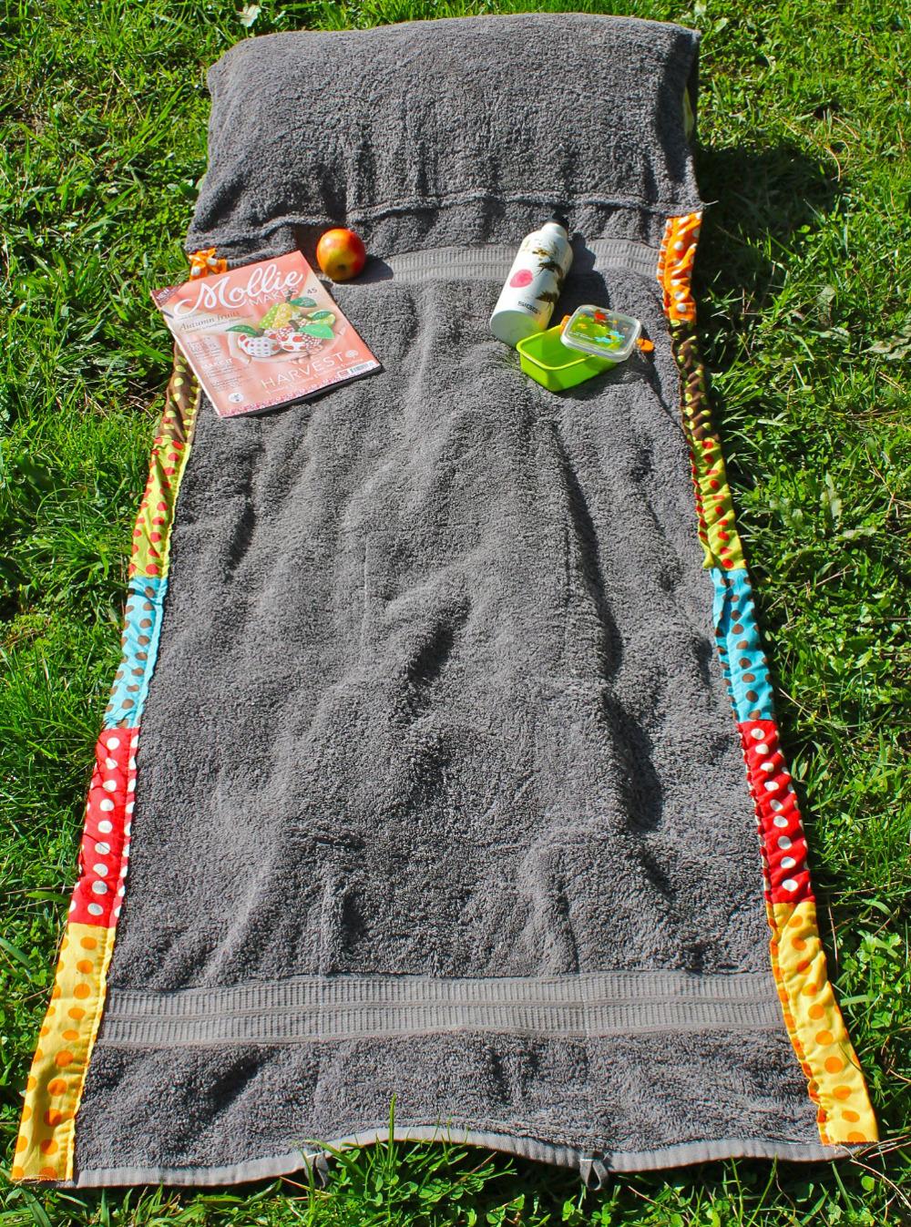 Сшить полотенце для пляжа