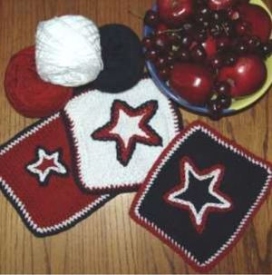 4th of July BBQ Dishcloths