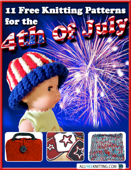 11 Free Knitting Patterns for the 4th of July
