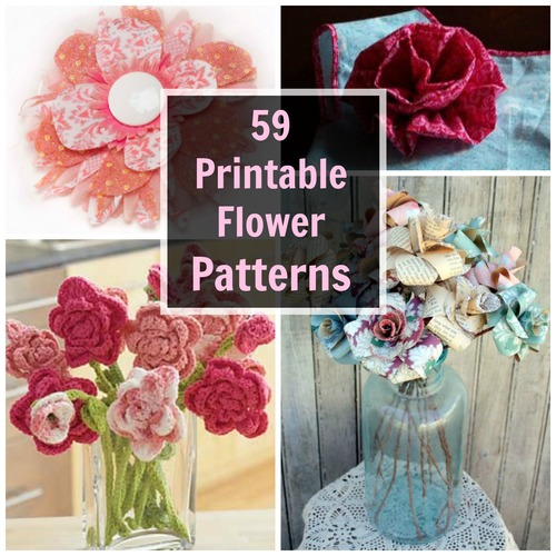 59 Printable Flower Patterns