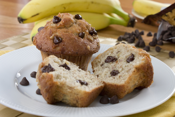 Chocolate Chip Banana Muffins: Our Best Chocolate Chip Muffin Recipe ...