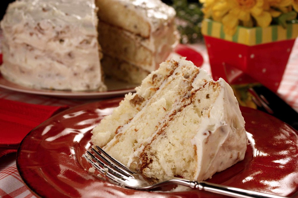 Italian Cream Cake Mrfood Com