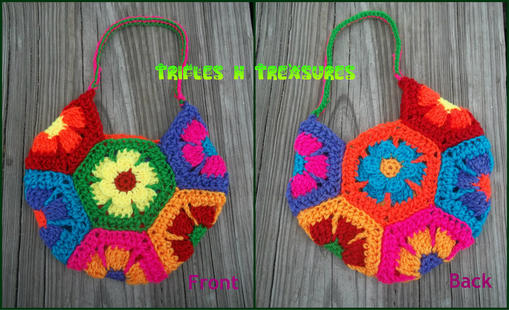 Flower Child Crochet Bag FaveCrafts.com