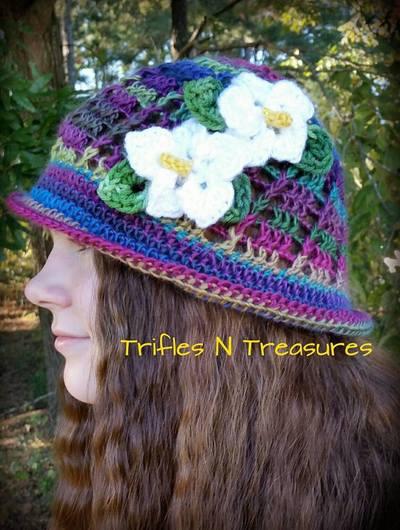 Free Crochet Pattern For Panama Hats : Panama Jack Crochet Hat AllFreeCrochet.com