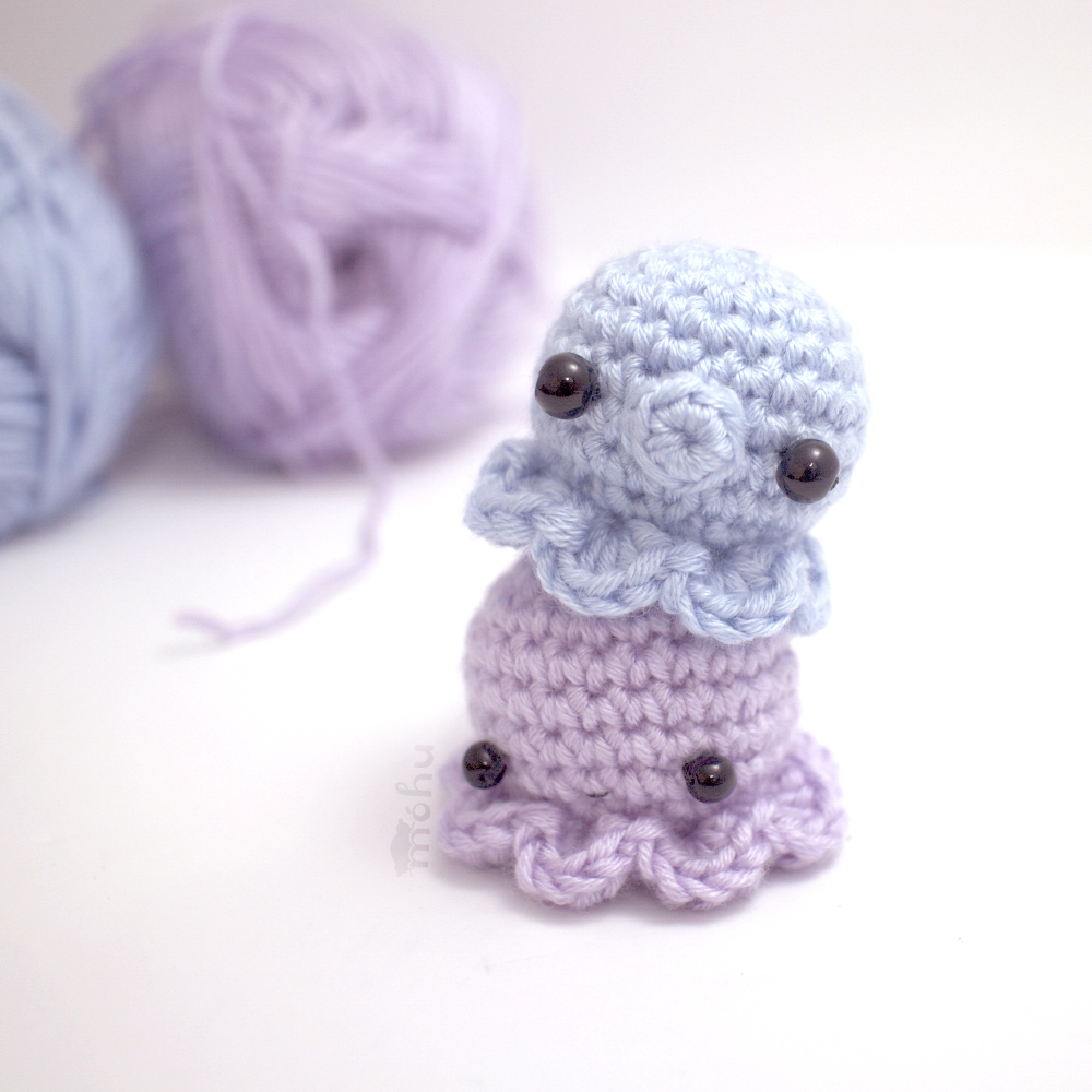 Mini Amigurumi Octopus : Mini Octopus Crochet Pattern FaveCrafts.com