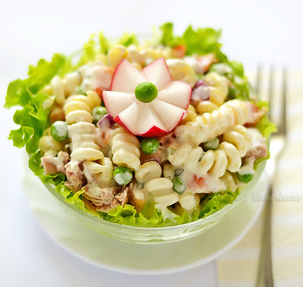 Simple Tuna Pasta Salad | FaveSouthernRecipes.com
