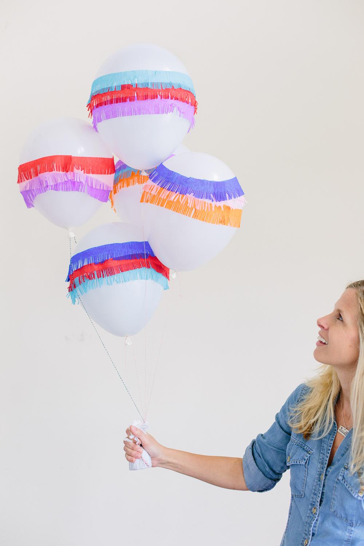 Pinata Balloons DIY Party Decor