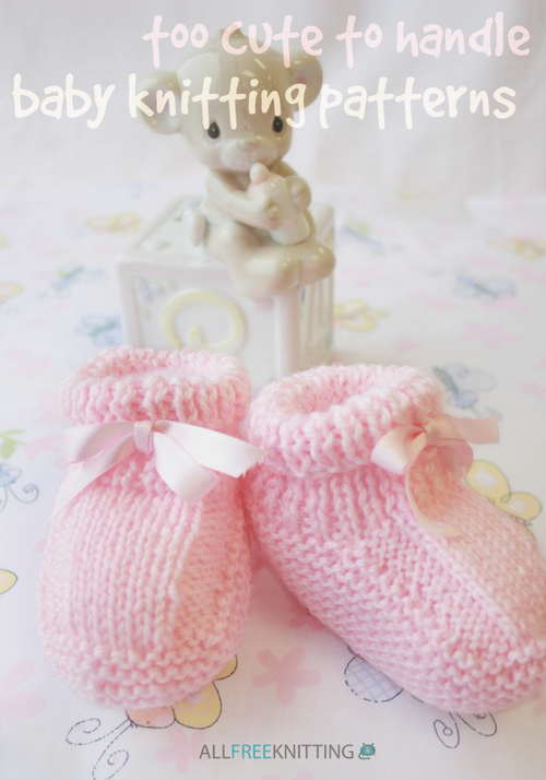 Knitting Patterns For Babies To Download : 301 Too Cute to Handle Baby Knitting Patterns AllFreeKnitting.com