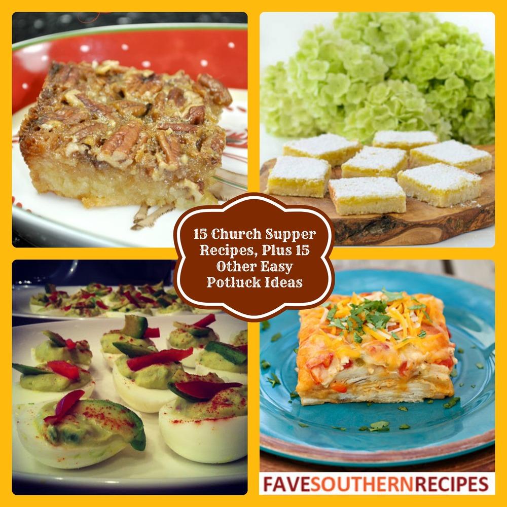 Recipes plus 15 other easy potluck ideas favesouthernrecipes com