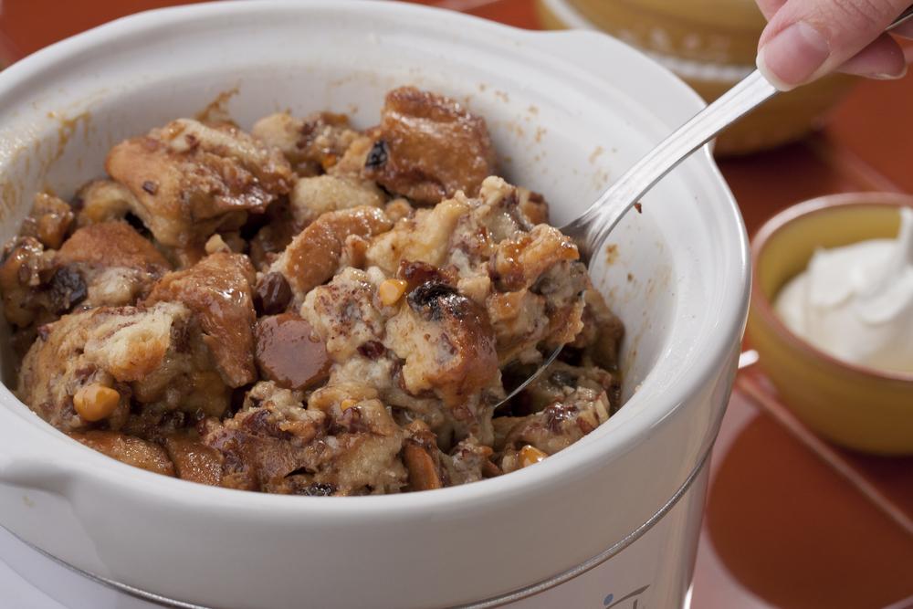 Cinnamon-Raisin Bread Pudding