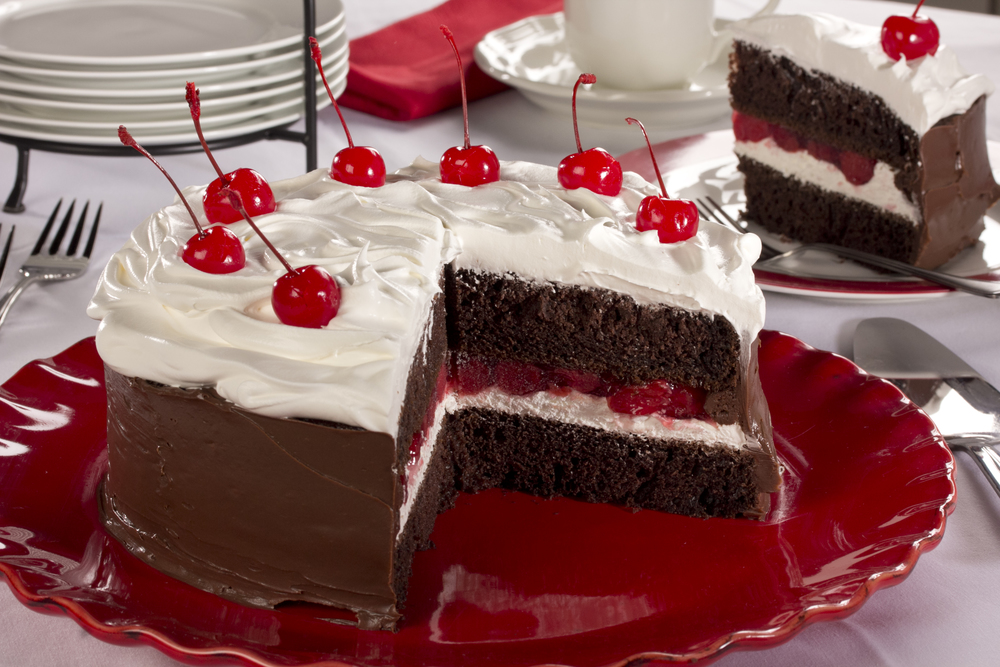 Christmas Black Forest Cake Recipe