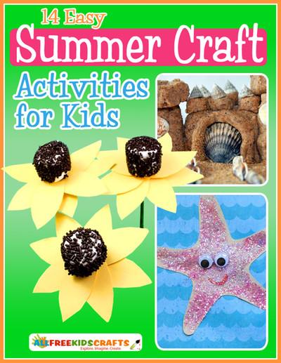 14 Easy Summer Craft Activities for Kids