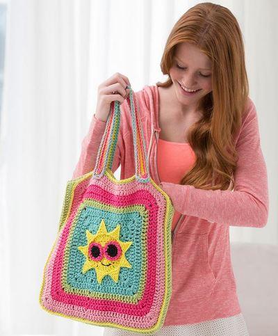 Sunshine Crochet Bag
