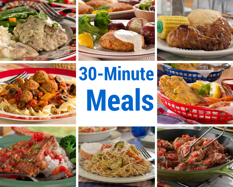 30 recipes for 30 minute meals mrfood forumfinder Image collections