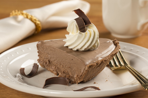 Belgian Chocolate Pie | mrfood.com