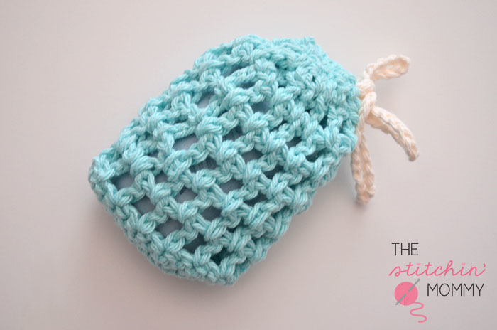 easy soap saver crochet pattern favecrafts