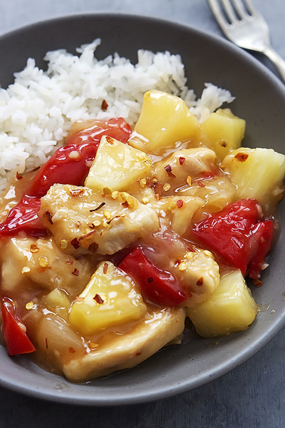 Slow Cooker Sweet Fire Chicken