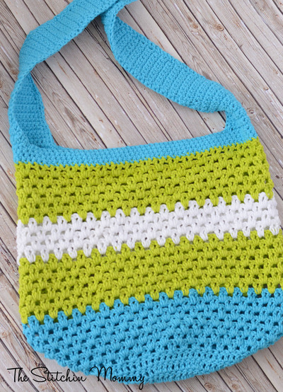 14 Easy Crochet Bag Patterns AllFreeCrochet.com