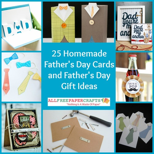 25 Homemade Father 39 S Day Cards And Father 39 S Day Gift Ideas