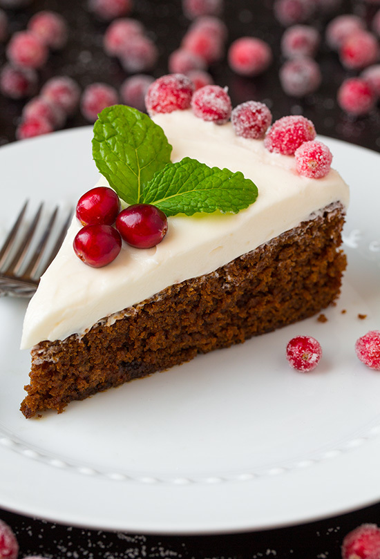 Gingerbread Cake with Cream Cheese Frosting | RecipeLion.com