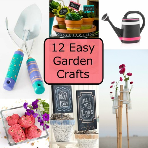 12 Easy Garden Crafts FaveCraftscom