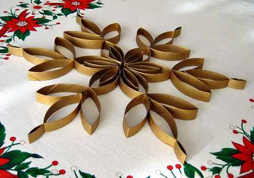 Christmas toilet paper roll craft large600 id for How to make a tree out of toilet paper rolls