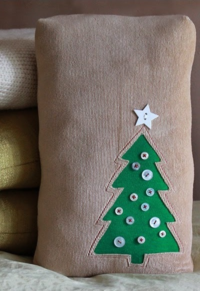 Tall Tree Pillow Tutorial