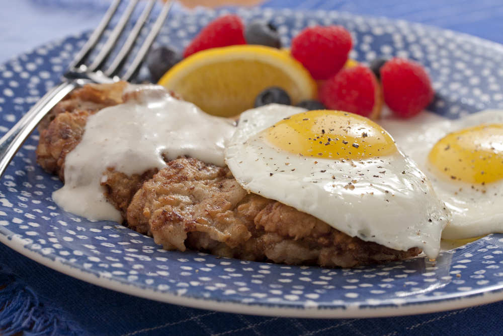 Country fried steak eggs mrfood forumfinder Choice Image