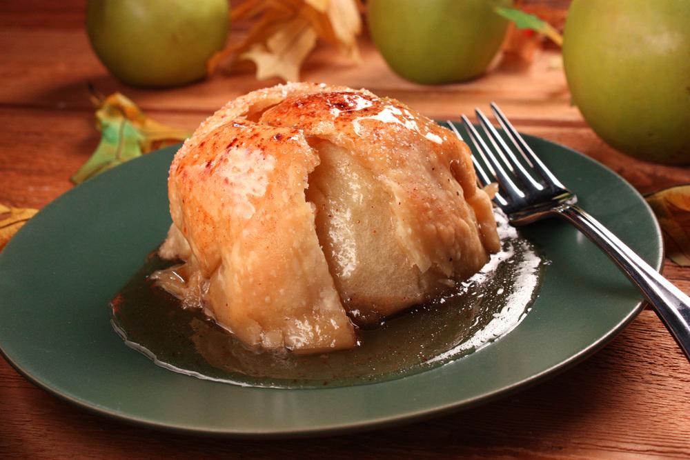 Apple Dumplings Our Best Apple Dumpling Recipe Mrfood Com