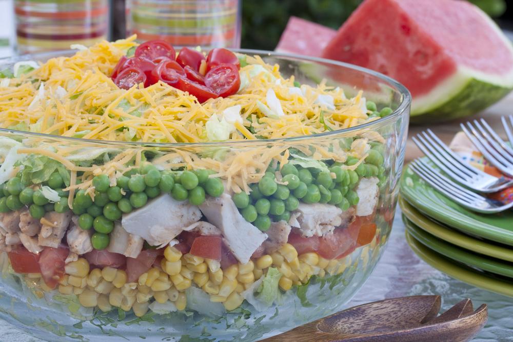 Rainbow stacked salad forumfinder Images