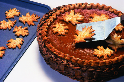 Autumn Pastry Leaves