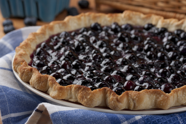 Awesome Blueberry Pie: Our Favorite Easy Blueberry Pie Recipe | MrFood ...