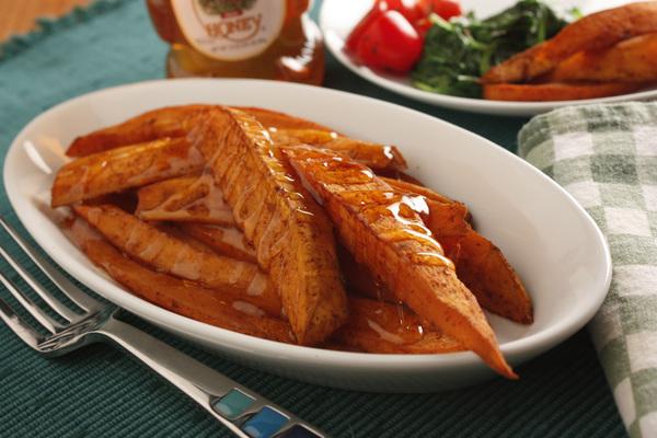 Baked Sweet Potato Fries | mrfood.com