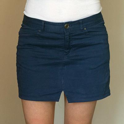 Pants-to-Skirt Refashion