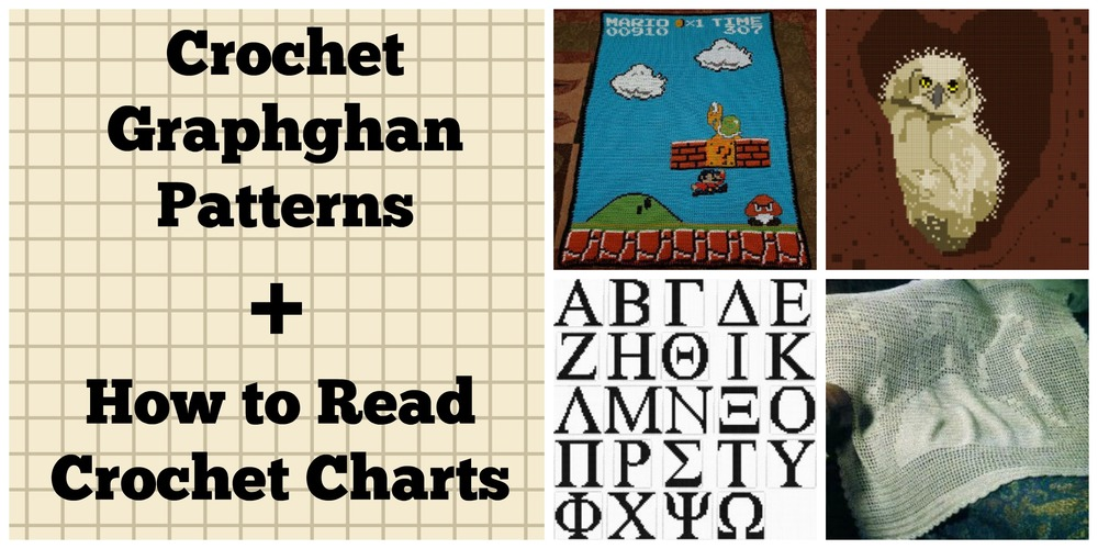 How To Read Crochet Patterns : 22 Crochet Graphghan Patterns + How to Read Crochet Charts ...