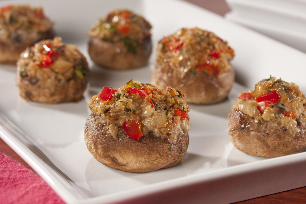 Jolly christmas party recipes 12 holiday party recipes for cheesy stuffed mushrooms forumfinder Image collections