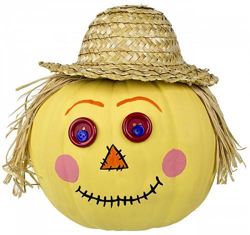 Scarecrow-Pumpkin-with-Straw-Hat_Large500_ID-1035262.jpg?v ...