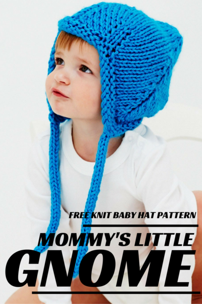 Gnome Hat Knitting Pattern Free : Mommys Little Gnome Knit Baby Hat Pattern ...
