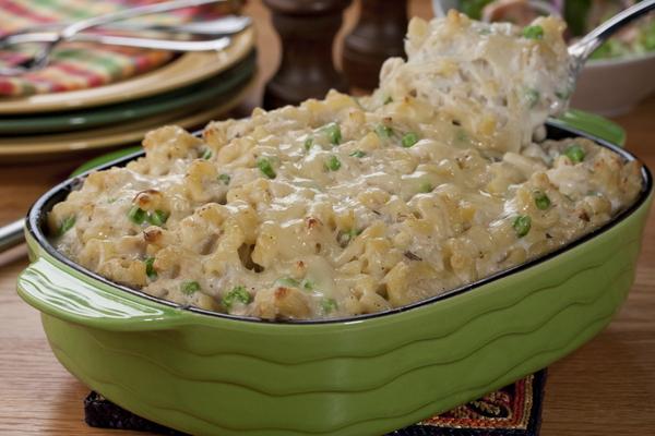 Family-Favorite Tuna Noodle Casserole | MrFood.com