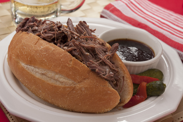 Pulled French Dip Sandwiches