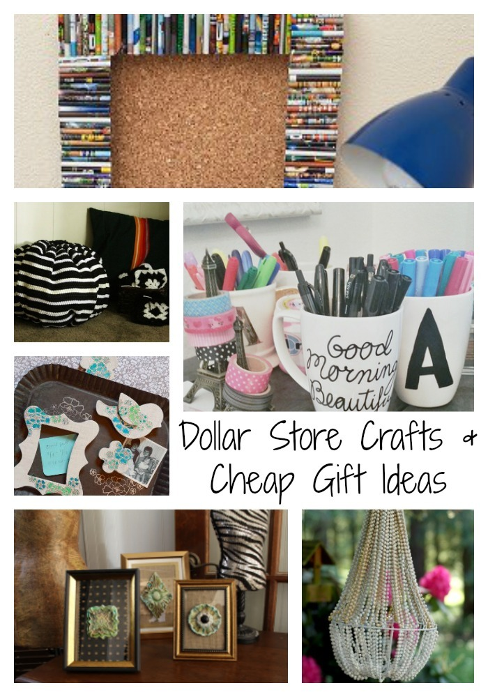 36 dollar store crafts and cheap gift ideas