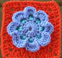How to Crochet: 14 Flower Crochet Granny Squares eBook