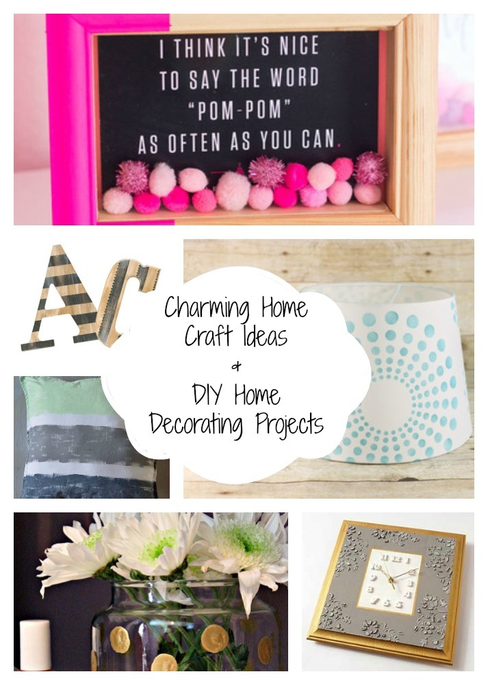 60 Charming Home Craft Ideas and DIY Home Decorating ...