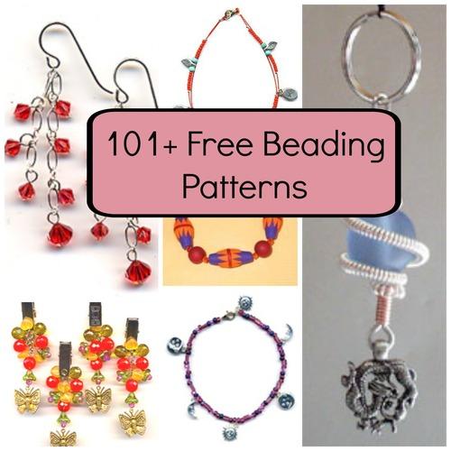 101+ Free Beading Patterns