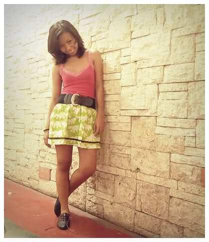 Simple Garter Skirt