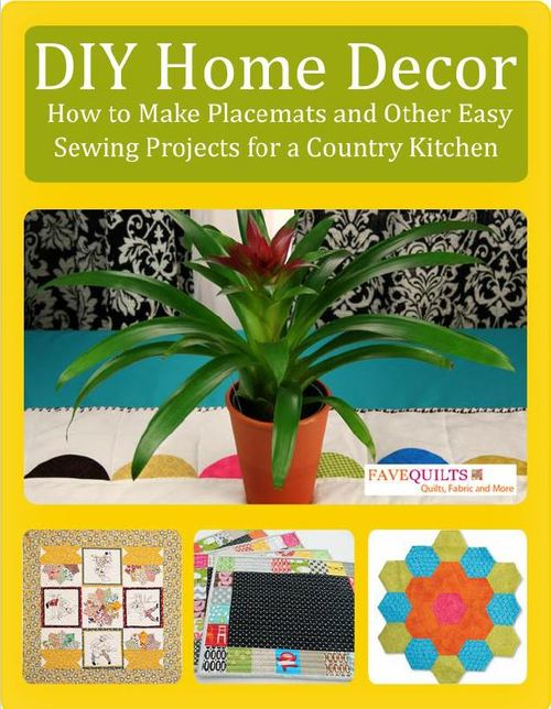 diy home decor how to make placemats and other easy mccall s sewing pattern 8391 home decor swag office sewing
