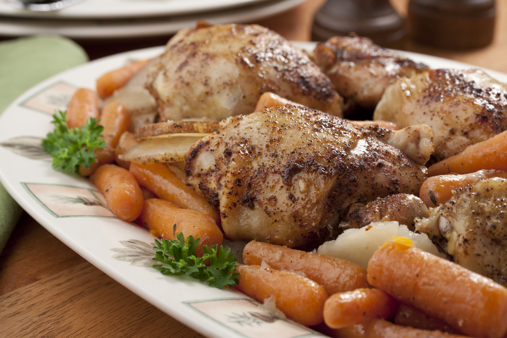 Braised chicken thighs dinner mrfood forumfinder Image collections