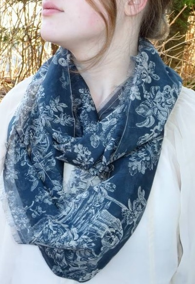 Insanely Easy Silk Infinity Scarf Allfreesewing Com