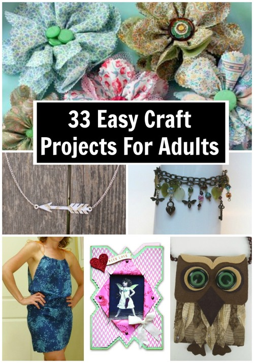 33 Easy Craft Projects for Adults